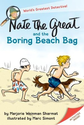 Nate the Great and the Boring Beach Bag - eBook  -     By: Marjorie Weinman Sharmat