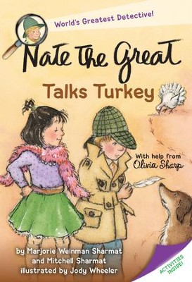 Nate the Great Talks Turkey - eBook  -     By: Marjorie Weinman Sharmat, Mitchell Sharmat     Illustrated By: Jody Wheeler