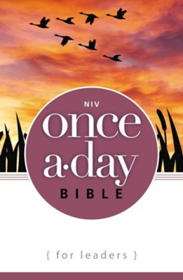 NIV Once-A-Day Bible for Leaders  -