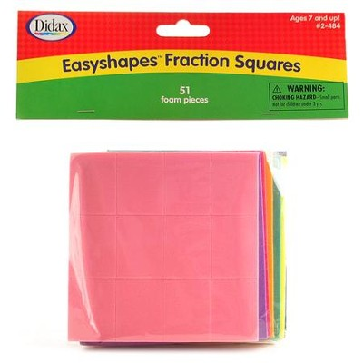 Easyshapes Fraction Squares  -