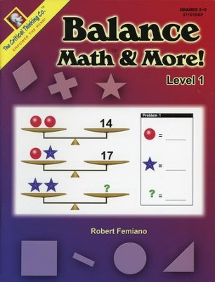Balance Math & More! Level 1 Grades 2-5   -     By: Robert Femiano