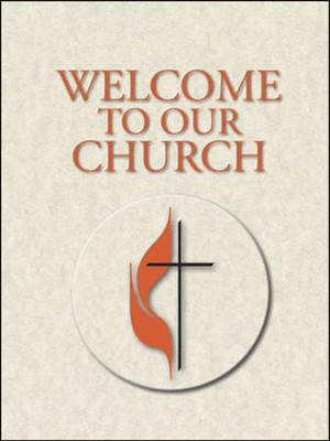 Welcome To Our Church Booklet  -