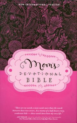 NIV Mom's Devotional Bible, Hardcover, Jacketed Printed - Slightly Imperfect  -     By: Elisa Morgan