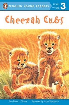 Cheetah Cubs  -     By: Ginjer L. Clarke     Illustrated By: Lucia Washburn