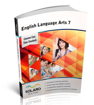 Solaro Study Guide English Language Arts 7  -