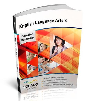 Solaro Study Guide English Language Arts 8  -