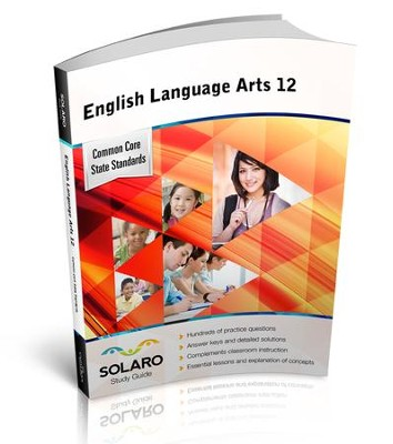Solaro Study Guide English Language Arts 12  -