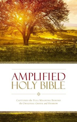 Amplified Holy Bible, hardcover   -