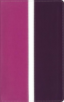 Amplified Bible, Soft Leather-Look, Dark Orchid/Deep Plum   -