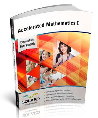 Solaro Study Guide Accelerated Mathematics 1  -