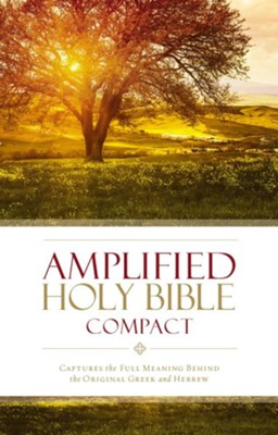 Amplified Compact Holy Bible, hardcover  -