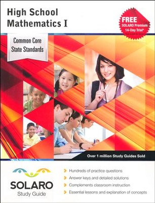 Solaro Study Guide High School Mathematics 1  -