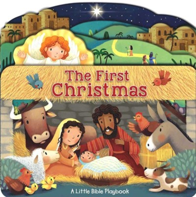 Little Bible Playbook: The First Christmas  -     By: Allia Zobel-Nolan     Illustrated By: Marta Alvarez Miguen