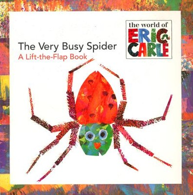 Very Busy Spider, The  -     By: Eric Carle