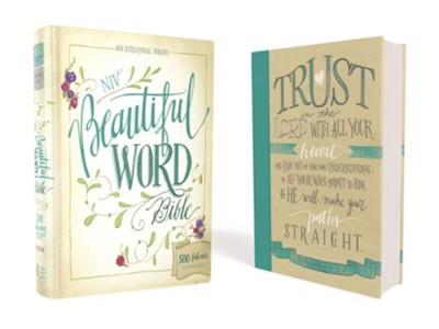 NIV Beautiful Word Bible, hardcover  -