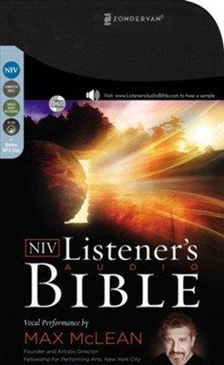 NIV Listener's Complete Bible--65 CDs   -     Narrated By: Max Mclean