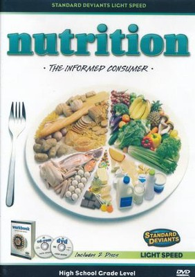 Light Speed Nutrition #4: The Informed Consumer DVD   -