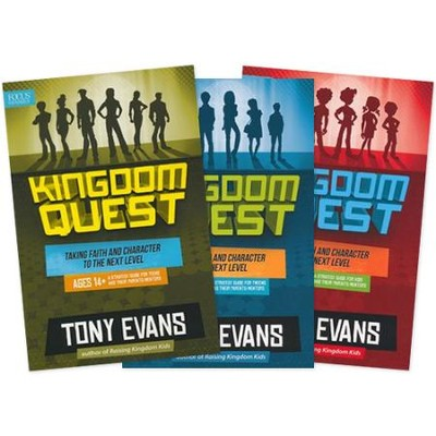 Kingdom Quest Strategy Guides, 3 Volumes   -     By: Tony Evans