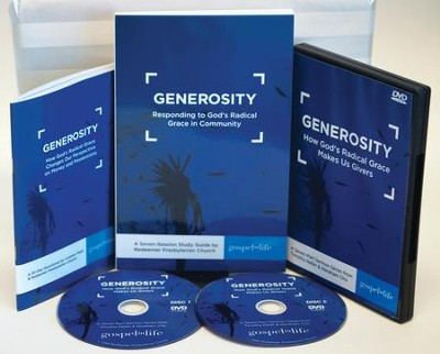 Generosity: Responding to God's Radical Grace in Community  Kit  -     By: Timothy Keller, Abraham Cho, Andrew Field, Redeemer Presbyterian Church