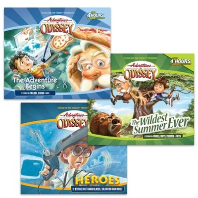 Adventures in Odyssey, volumes 1-3   -