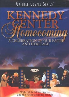 Kennedy Center Homecoming, DVD   -     By: Bill Gaither, Gloria Gaither, Homecoming Friends