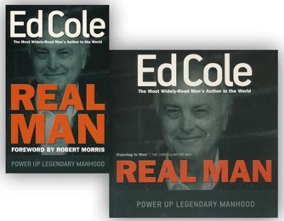 Real Man - Book and Workbook 2 Pack  -     By: Ed Cole