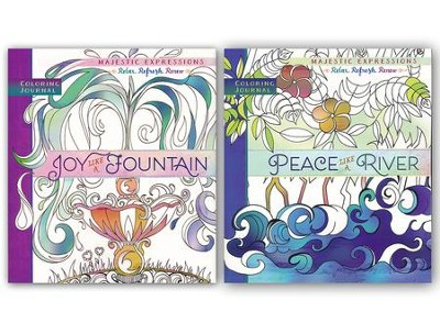 Majestic Expressions Coloring Journals, 2-Pack   -