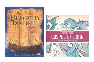 Beloved Disciple: The Life and Ministry of John w/The  Complete Book of John Coloring Book  -