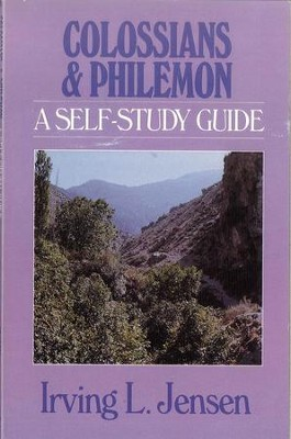 Colossians & Philemon: Jensen Bible Self-Study Guide Series  -     By: Irving L. Jensen