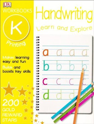 DK Workbooks: Handwriting: Printing, Kindergarten  -