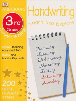 DK Workbooks: Handwriting: Cursive, Third Grade  -