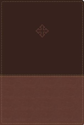 Amplified Study Bible, Imitation Leather, Brown, Indexed, Leather, imitation  -
