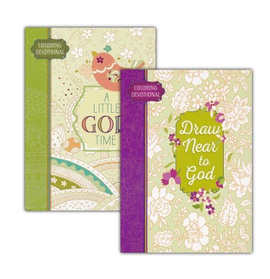 Majestic Expressions Coloring Devotionals 2 Pack   -