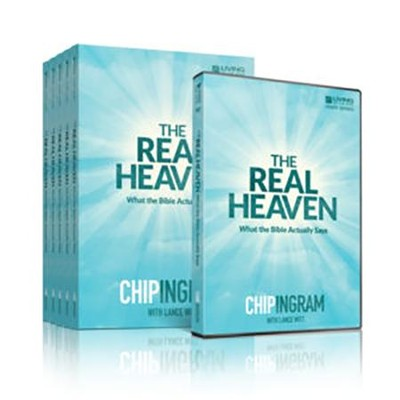 The Real Heaven Group Starter Kit (1 DVD Set & 5 Study Guides)  -     By: Chip Ingram
