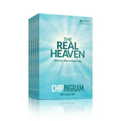 The Real Heaven 5 pack of Study Guides   -     By: Chip Ingram