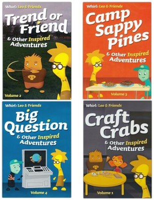 WHIRL: Leo & Friends DVDs - 4 Pack  -