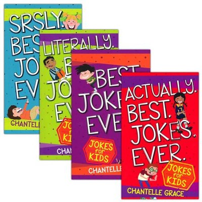 Best Jokes Ever - 4 Pack  -     By: Chantelle Grace