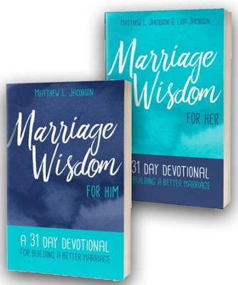 Marriage Wisdom for Her / Marriage Wisdom for Him - 2 Pack  -     By: Matthew L. Jacobson, Lisa Jacobson