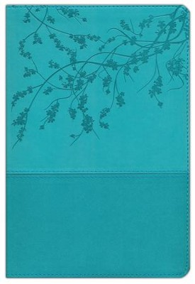 A Woman After God's Own Heart Bible: Teal Imitation Leather (NKJV)   -     By: Elizabeth George