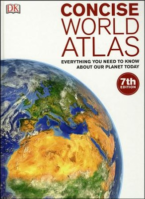 Concise World Atlas, 7th Edition  -