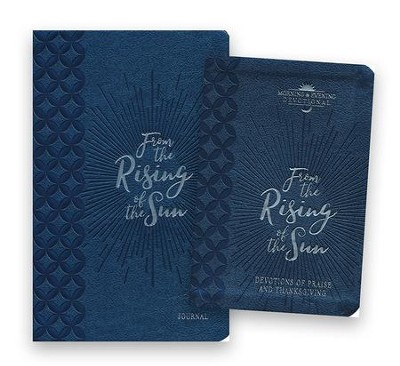 From the Rising of the Sun Devotional and Journal - 2 Pack  -