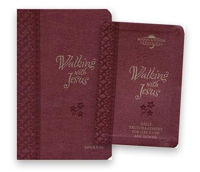 Walking with Jesus Devotional and Journal - 2 Pack  -