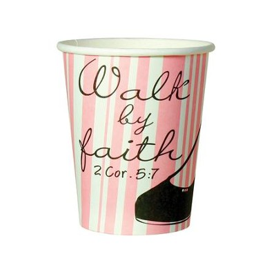 Walk by Faith Cups, Pack of 10  -