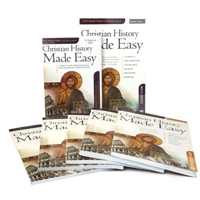 Christian History Made Easy DVD special package   -