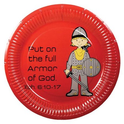 Armor of God Plates, Pack of 10  -