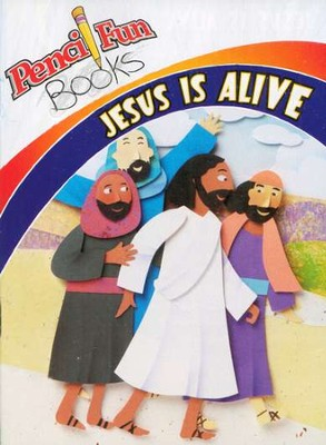 Jesus is Alive: Pencil Fun Book, 10 pack  -