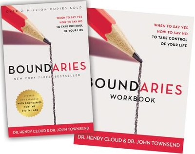 Boundaries Book and Workbook   -     By: Dr. Henry Cloud, Dr. John Townsend