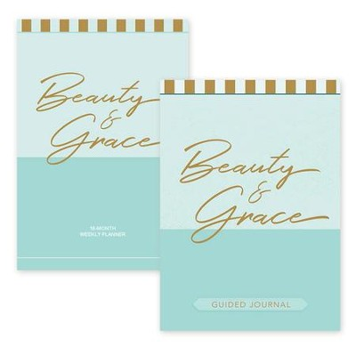 2019 Beauty & Grace Planner and Beauty & Grace Journal, 2-Pack   -