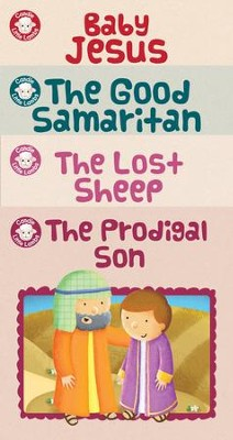 Candle Little Lambs Library: Stories of Jesus  -     By: Karen Williamson
