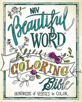 NIV Beautiful Word Coloring Bible, Hardcover   -